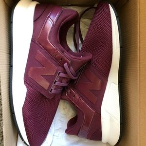 New Balance Maroon 247 tennis shoes